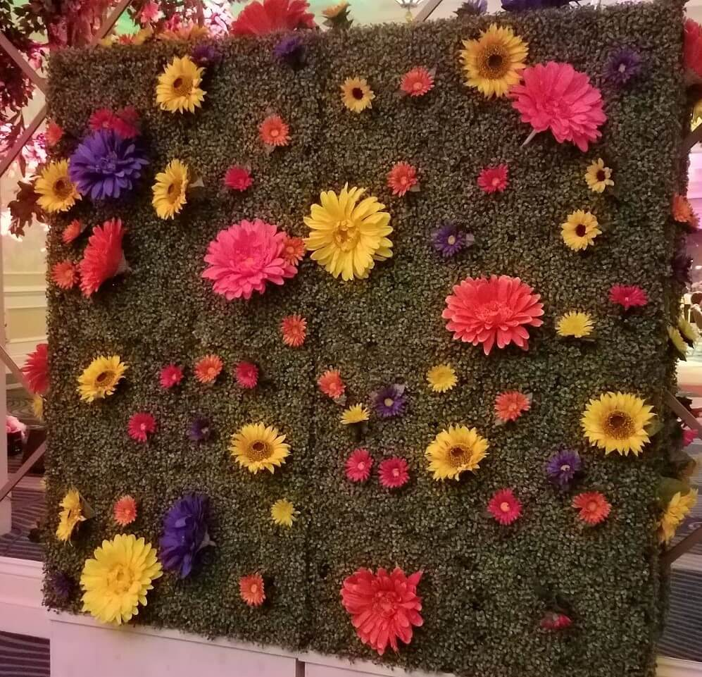 Floral Wall For Events