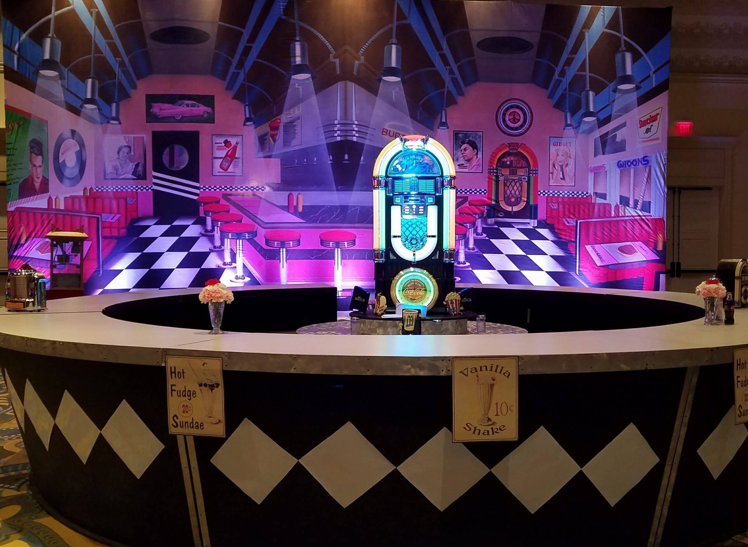 50's Soda Pop Themed Event