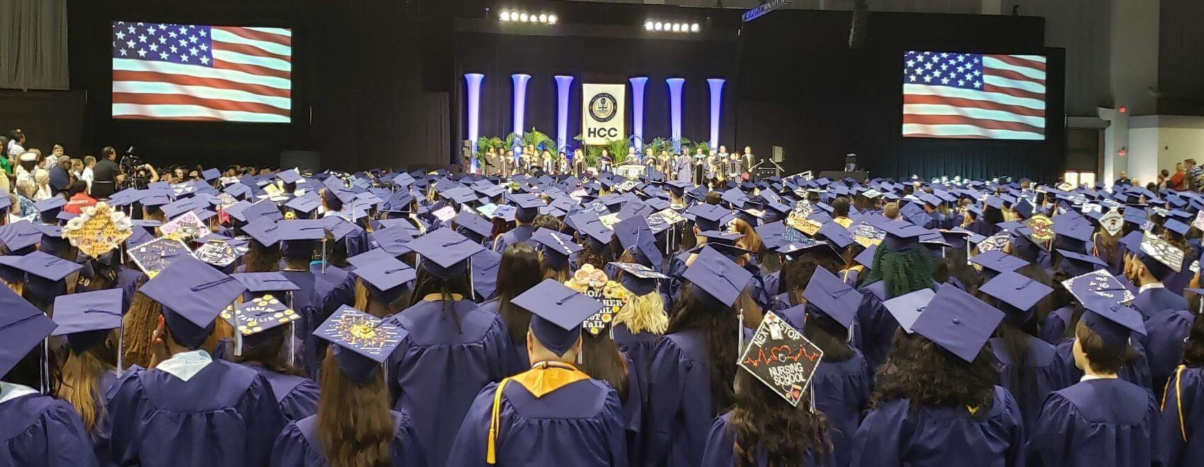 4 HCC Graduation Ceremony Design
