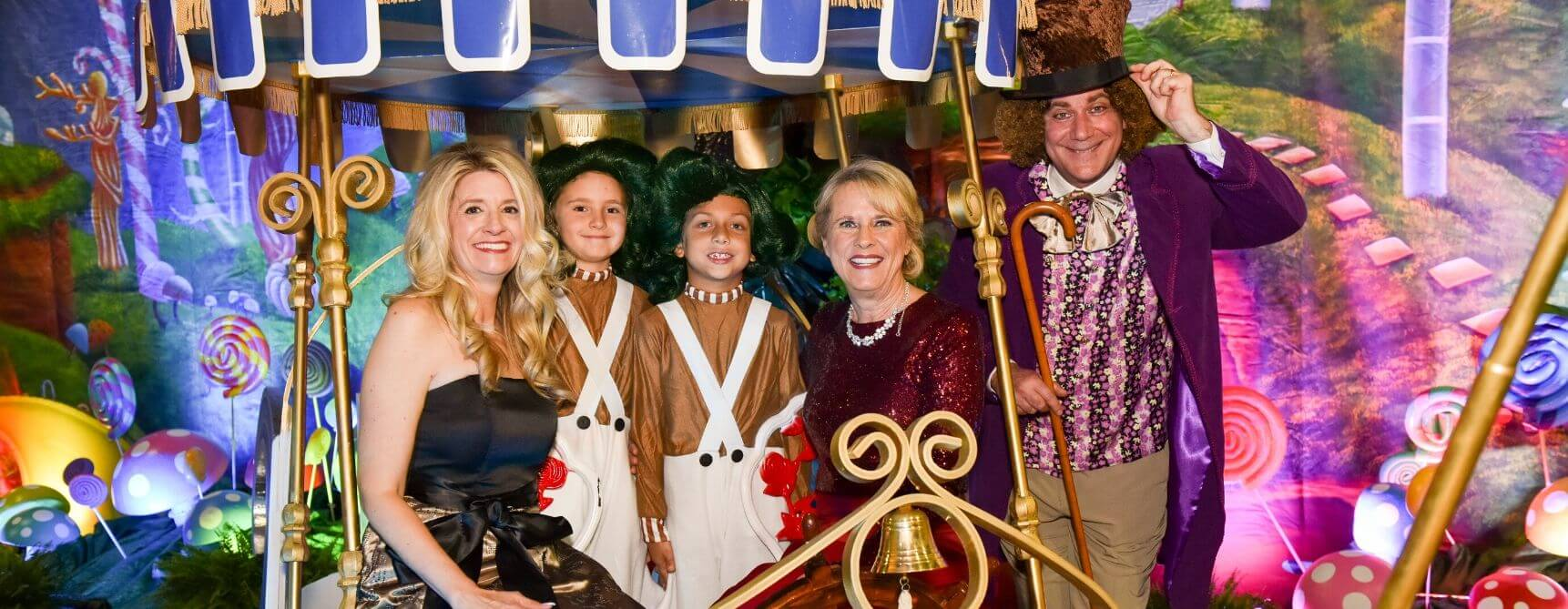 All Children's Hospital Willy Wonka Themed Event