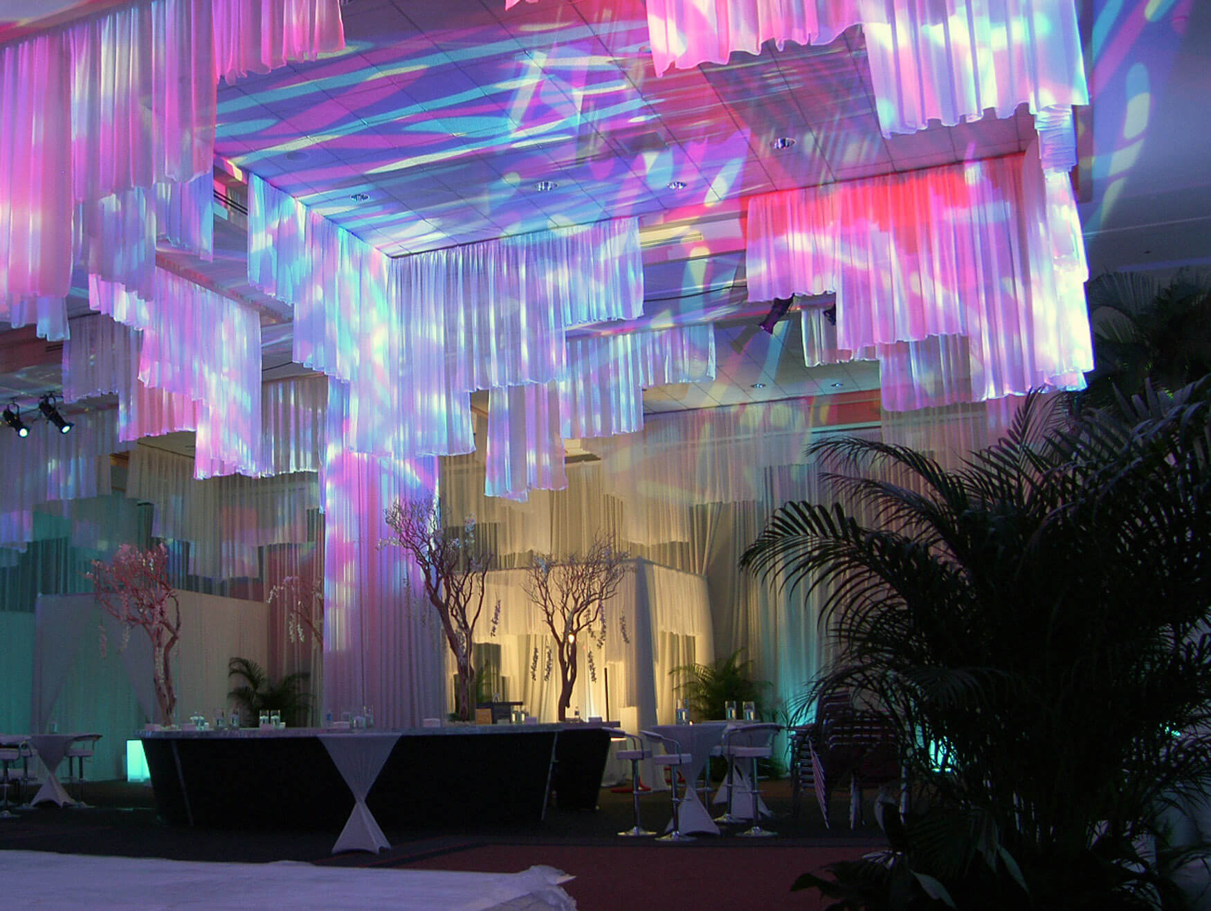 Luxury Shimmering Themed Event
