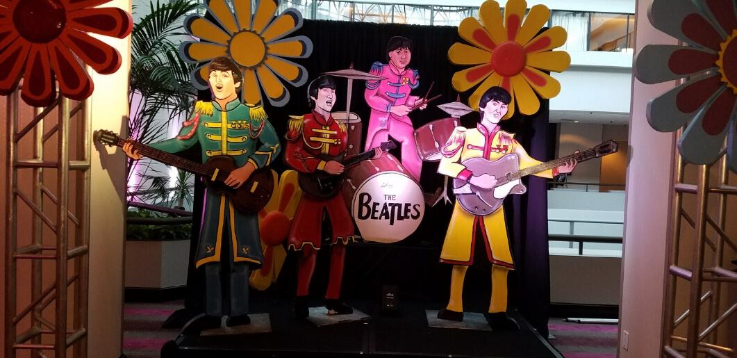 Beatles Backdrop