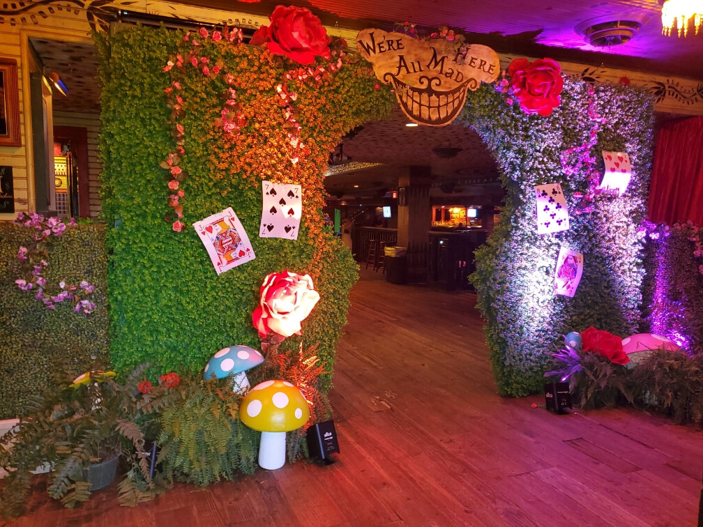 Mad Hatter Themed Event