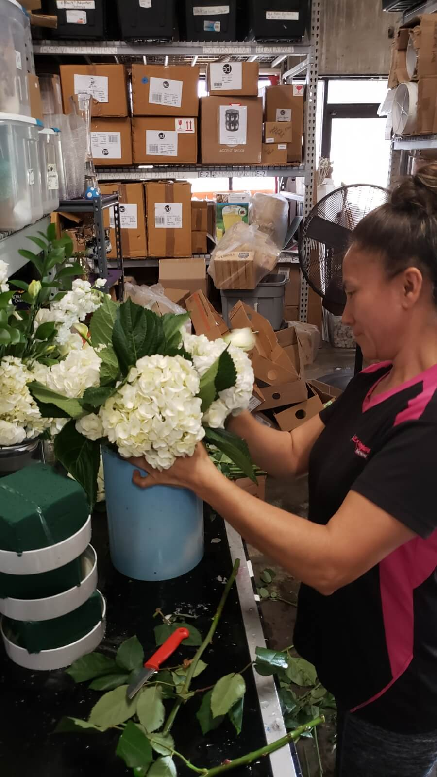 Event Floral Design Behind The Scenes