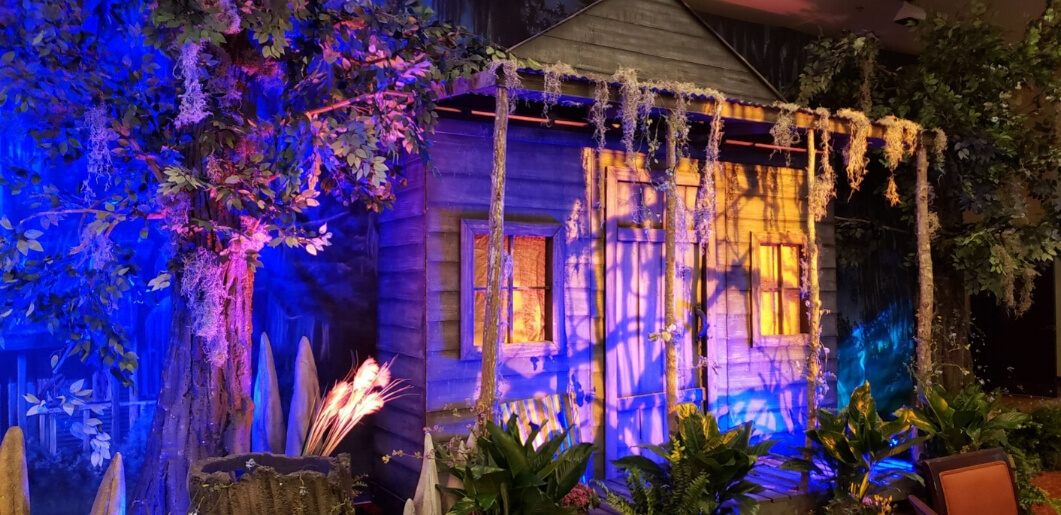 Swamp Shack for an Event