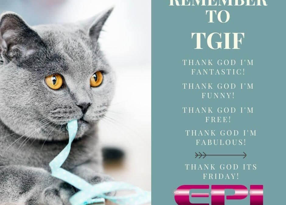 Fun Friday – TGIF