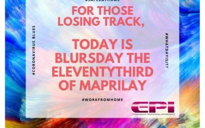 Fun Friday – Today is Blursday!