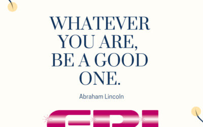 Motivational Monday – Be a Good One!