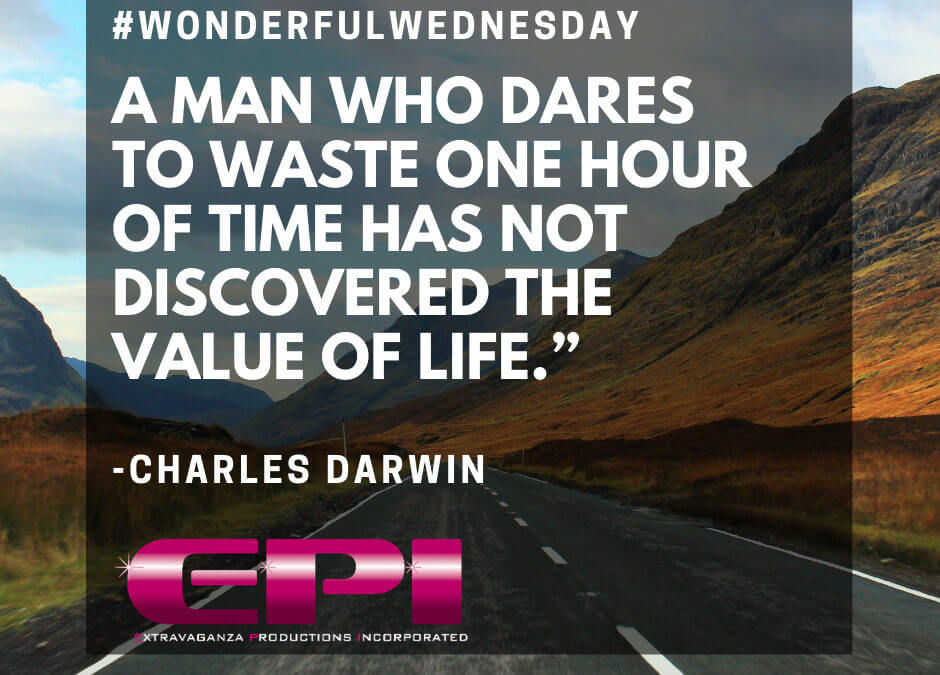 Wonderful Wednesday – Don't Waste Time!