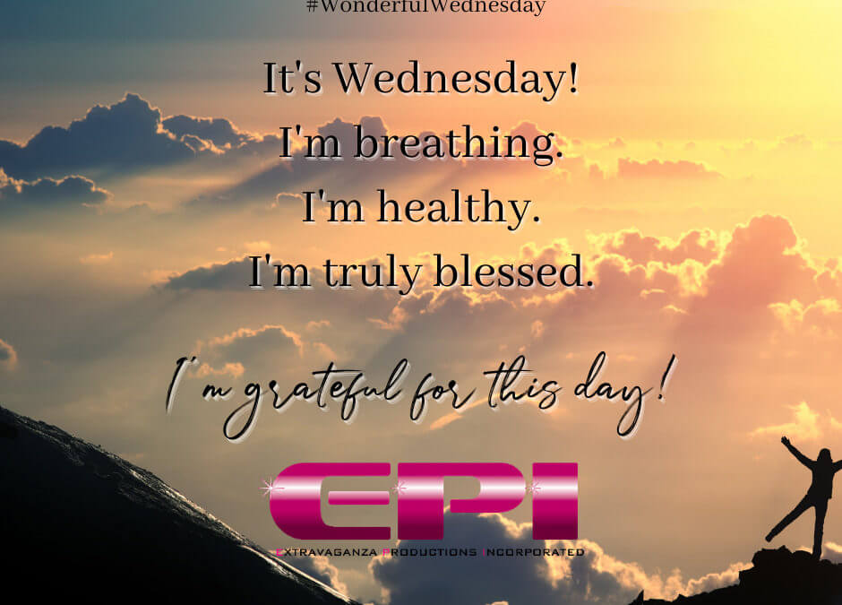 Wonderful Wednesday - I'm Grateful