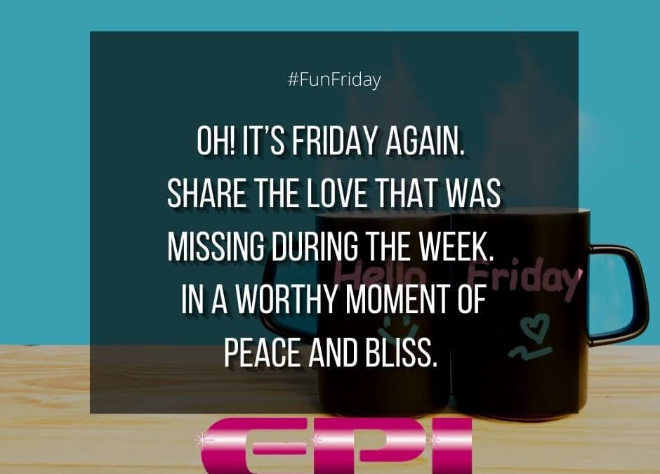 Fun Friday – Share The Love